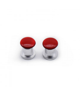 HKUCO Replacement Red Screws Stainless Steel For Oakley Jawbone/Split Jacket/Racing Jacket Sunglasses
