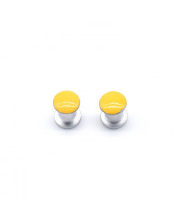 HKUCO Replacement Yellow Screws Stainless Steel For Oakley Jawbone/Split Jacket/Racing Jacket Sunglasses