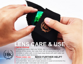 LENS CARE & USE