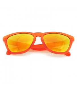 HKUCO Deciduous Orange Sunglasses