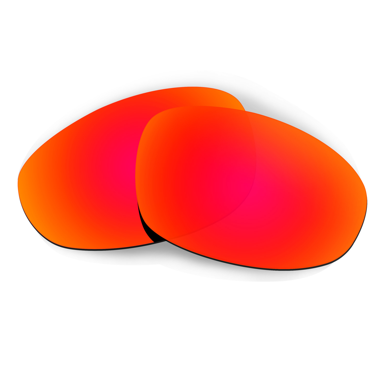 0e5df98305 HKUCO Red Polarized Replacement Lenses for Oakley Juliet Sunglasses