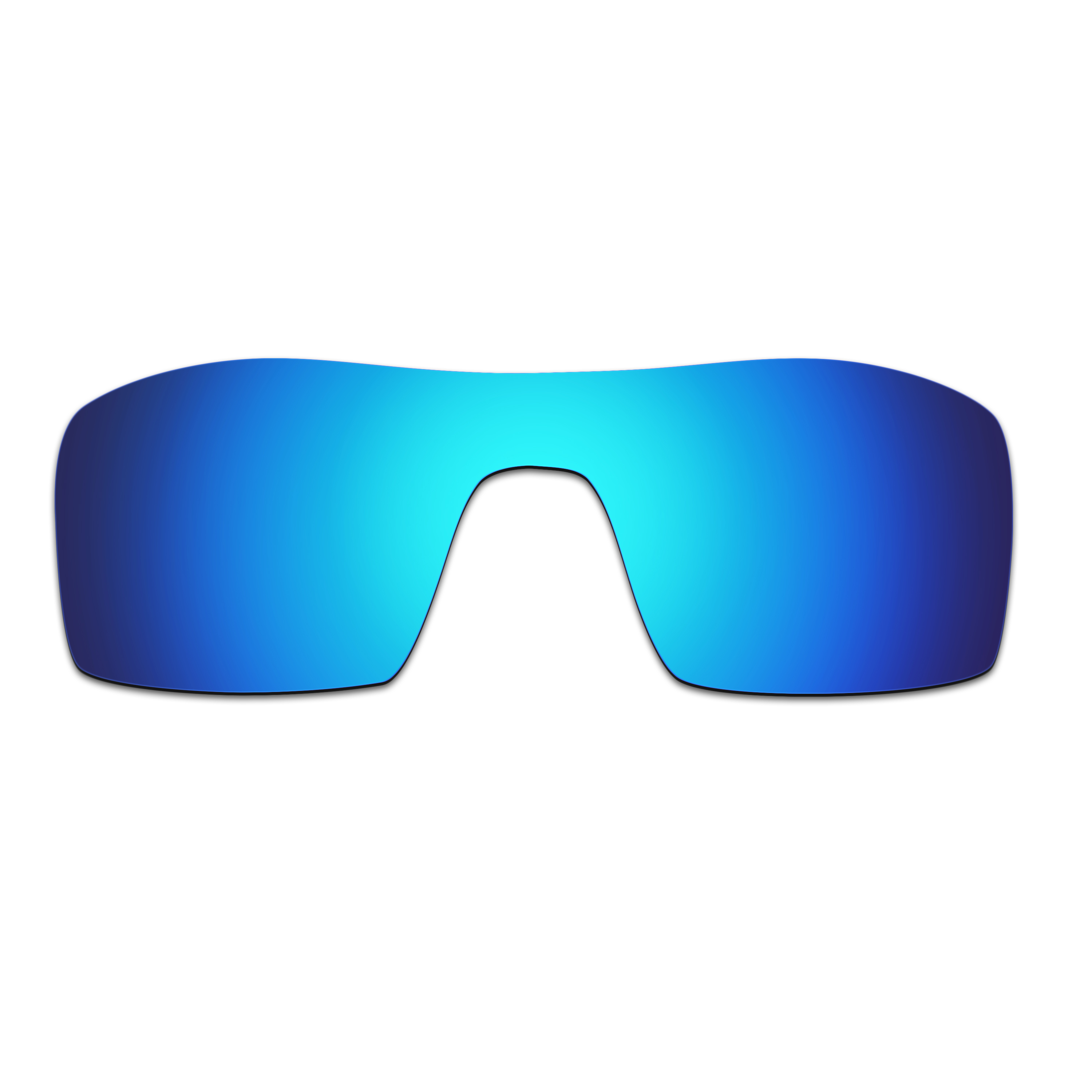 HKUCO Blue Polarized Replacement Lenses and Blue Earsocks Rubber Kit For Oakley Juliet Sunglasses
